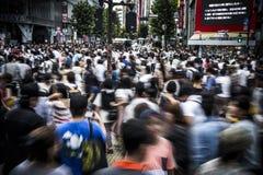 Folla a Tokyo Immagine Stock Libera da Diritti