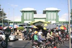 Folla tradizionale del mercato Immagine Stock Libera da Diritti