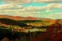 Follaje de Vermont Foto de archivo