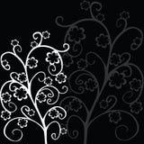 Follaje floral elegante Imagenes de archivo
