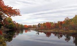 Follaje hermoso del otoño, Nueva Inglaterra Fotografía de archivo