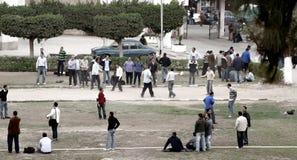 Folle degli studenti egiziani Fotografia Stock