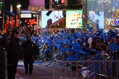 Folle di notte di San Silvestro Fotografia Stock Libera da Diritti