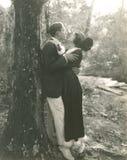 Follement dans l'amour Photographie stock