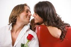 Follement dans l'amour Images libres de droits