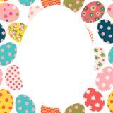 Folleto de Pascua o tarjeta de felicitación colorido lindo libre illustration