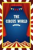 Folleto del circo Foto de archivo libre de regalías