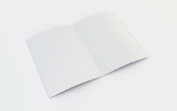 Folleto en blanco ilustración del vector