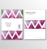 Folletos del negocio, fondos de la falta de definición La disposición se puede utilizar para el diseño para el cartel, revista, a libre illustration