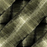 Follicle. Abstract 3D close up of animal hair follicle Royalty Free Stock Photography
