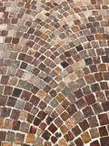 Follow the brown Brick Road Background. Very nice composition built in ages ago royalty free stock photography