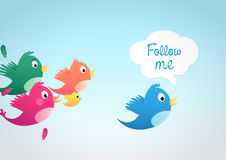 Free Follow Me Stock Photography - 23098922