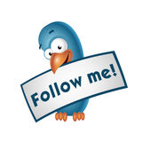Follow me Royalty Free Stock Photo