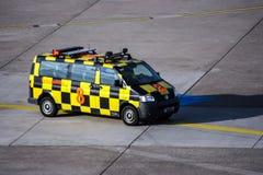Follow-Me Car at an Airport