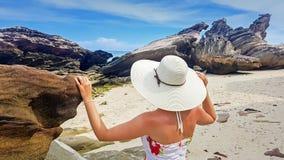 The rocks of Krabi island, Thailand Stock Photo