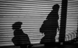 Follow me shadow ! Stock Photo