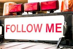 Free Follow Me Sign Royalty Free Stock Photos - 28869238