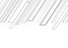 Follow-up background. Follow-up diagonal cornered grey graphic with halftone Royalty Free Stock Photography