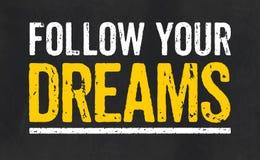 Follow your dreams Royalty Free Stock Photos
