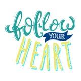 Follow your heart Stock Photos
