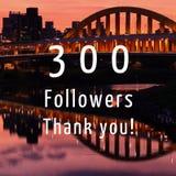 300 followers sign