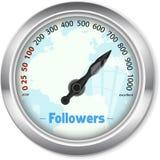 Followers, social media Royalty Free Stock Photography