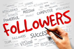 Followers Stock Photography