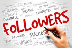 Followers Stock Photography