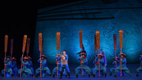 """Following in his father's footsteps-Dance drama """"The Dream of Maritime Silk Road"""". Dance drama """"The Dream of Maritime Silk Road"""" centers on the stock photography"""