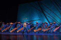 """Following in his father's footsteps-Dance drama """"The Dream of Maritime Silk Road"""" Stock Image"""