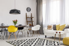 Following latest trends in urban interior design Royalty Free Stock Images