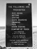 THE FOLLOWING ARE PROHIBITED: BIKE RIDING, NETTING, SKATING, PETS, ETC. When something is prohibited, it`s not allowed. If you see the sign `Swimming is Royalty Free Stock Photos
