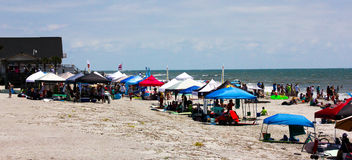 Folly Beach, South Carolina. Royalty Free Stock Photography