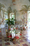 Folly in Melk. Pleasure house in cloister Melk Royalty Free Stock Photo