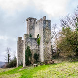 Folly overlooking Slindon West Sussex Stock Image