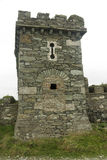 Folly tower, converted to pillbox with loopholes Stock Photography