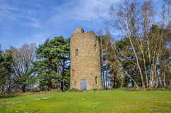 Folly Tower at the Top of Chinthurst Hill Surrey Stock Image