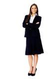 Folował długości businesss kobiety zdjęcia royalty free