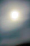 folował halo księżyc Zdjęcie Stock