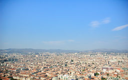 folował Marseille widok Obrazy Royalty Free