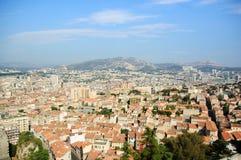 folował Marseille widok Obraz Stock