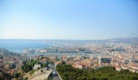 folował Marseille widok Zdjęcia Stock