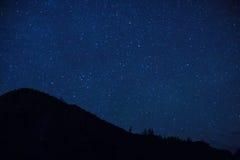 folował nocne niebo gwiazdy Obrazy Stock