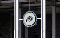 Folsom Field Stock Image