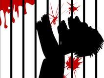 Folterung stock abbildung