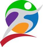 Folâtre le logo Photographie stock libre de droits