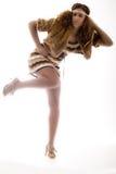 folująca ciało moda Zdjęcie Royalty Free