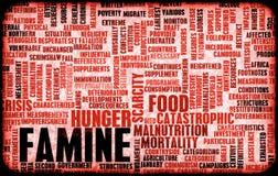 Fome ilustração stock