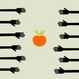 Fome Imagens de Stock