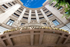 Foment del Treball Nacional - Barcelona Royalty Free Stock Image